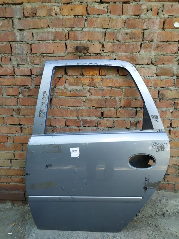 Дверь Opel Meriva A Z16XEP 2008 задняя левая (б/у)