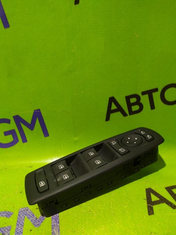 Блок управления стеклами Renault Megane BZ0G M4R713 2011 (б/у)