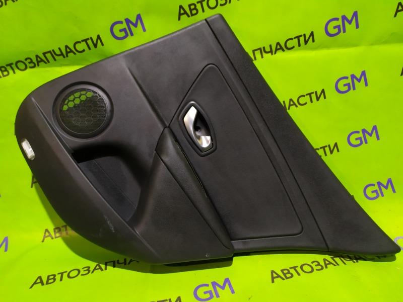 Обшивка двери Renault Megane BZ0G M4R713 2011 задняя правая (б/у)