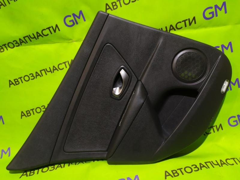 Обшивка двери Renault Megane BZ0G M4R713 2011 задняя левая (б/у)