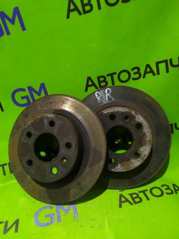Тормозной диск Opel Astra L35 Z18XER 2007 задний (б/у)