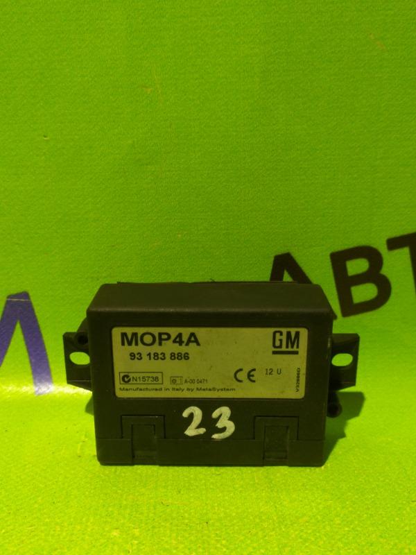 Блок электронный Opel Corsa D Z12XEP 2008 (б/у)