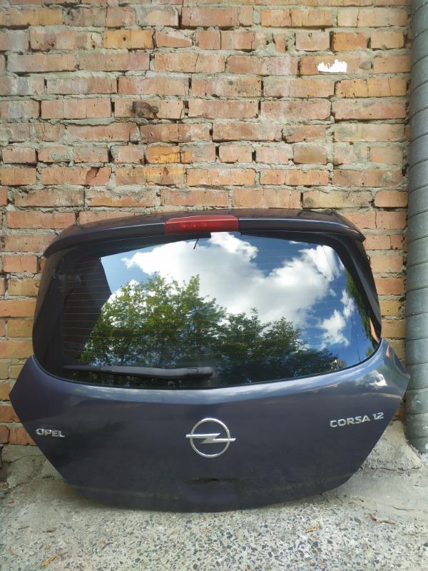 Дверь багажника Opel Corsa D Z12XEP 2008 (б/у)
