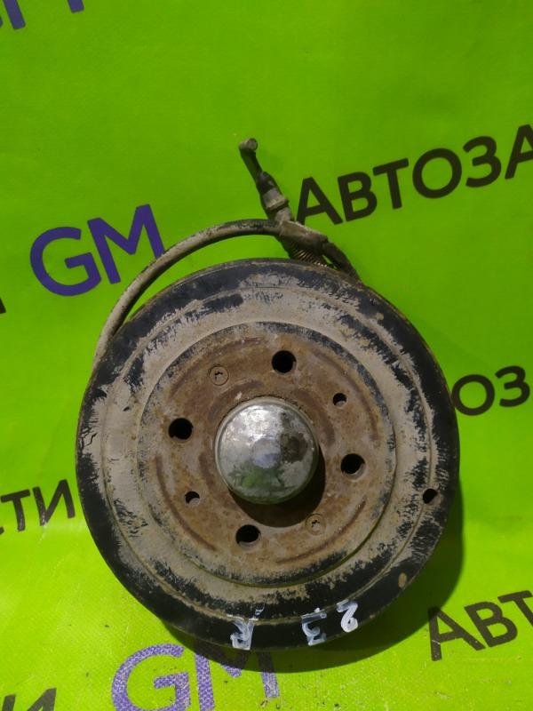 Тормозной барабан Opel Corsa D Z12XEP 2008 задний правый (б/у)