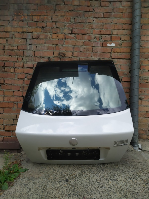 Дверь багажника Skoda Octavia A4 AKL 2005 (б/у)