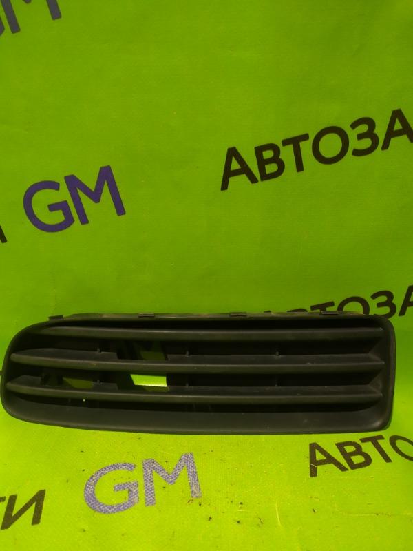 Заглушка противотуманной фары Skoda Octavia A4 AKL 2005 передняя правая (б/у)