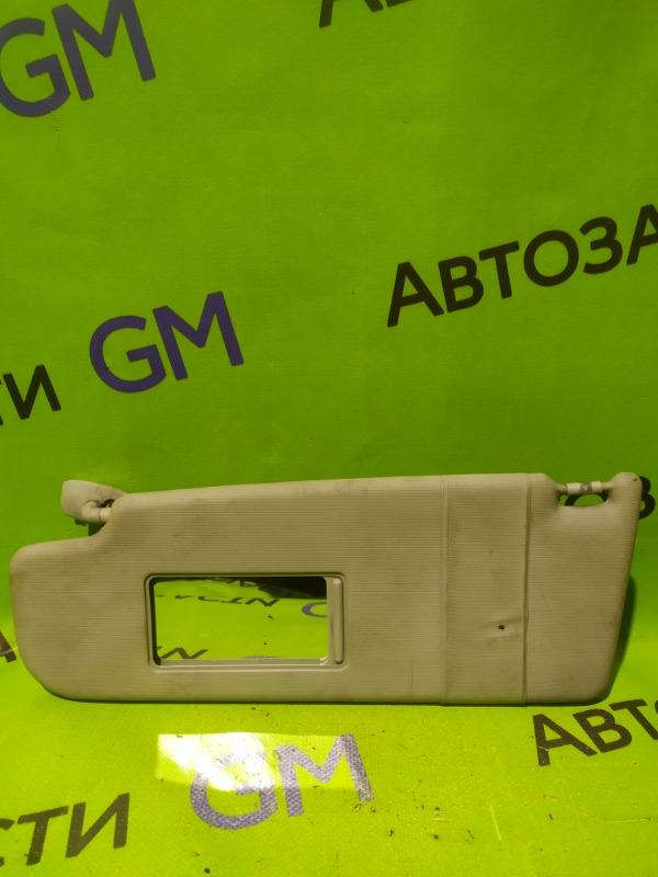 Козырек солнцезащитный Skoda Octavia A4 AKL 2005 передний левый (б/у)