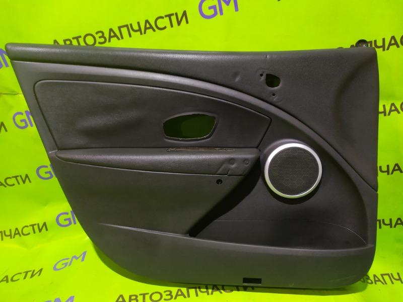 Обшивка двери Renault Megane BZ0G M4R713 2011 передняя левая (б/у)