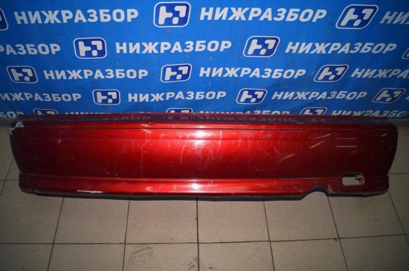 Бампер Nissan Almera N15 1.4 GA14 1997 задний (б/у)