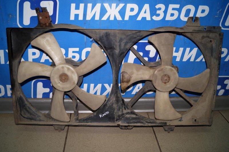 Вентилятор радиатора Nissan Almera N15 1.4 GA14 1997 (б/у)