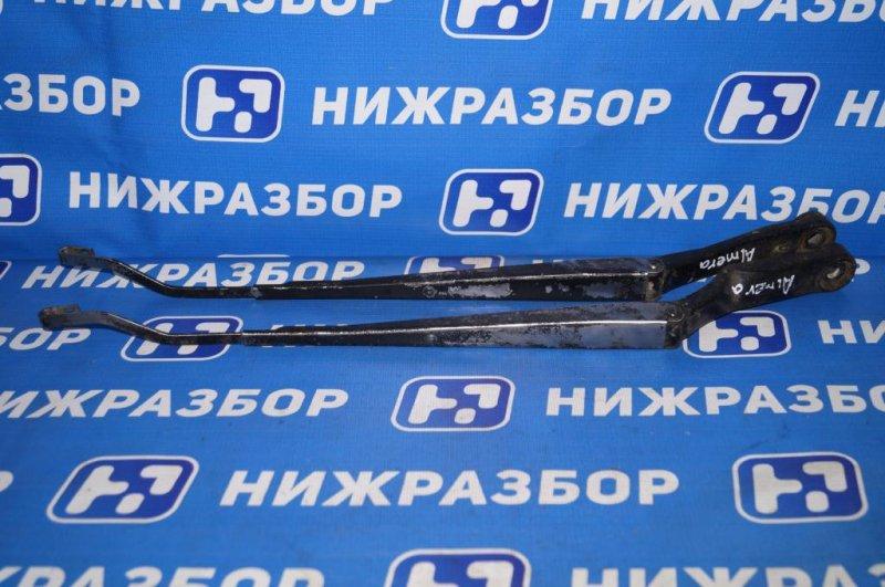 Поводок стеклоочистителя к-кт Nissan Almera N15 1.4 GA14 1997 (б/у)