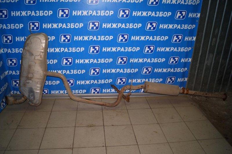 Глушитель в сборе Skoda Yeti КРОССОВЕР 1.2T (CBZB) 2011 (б/у)