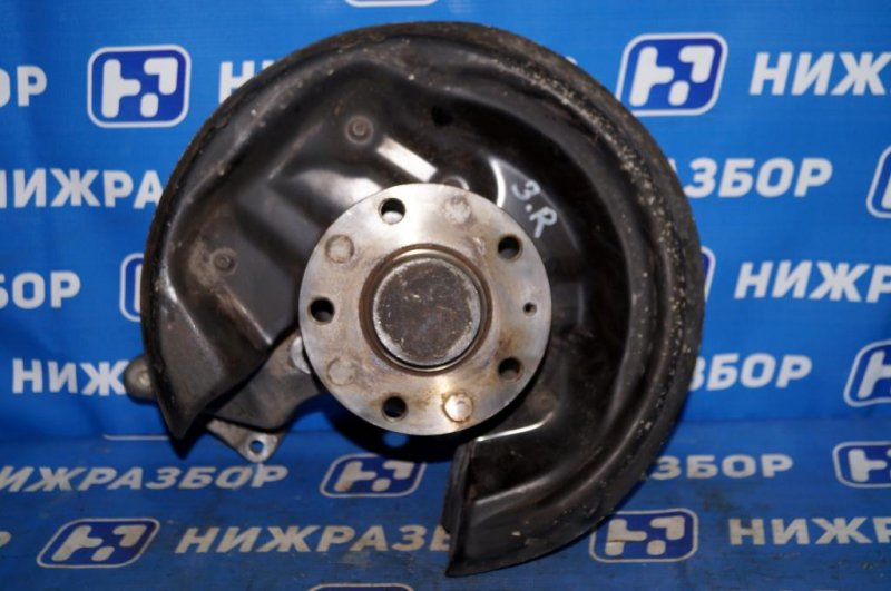 Кулак поворотный Skoda Yeti КРОССОВЕР 1.2T (CBZB) 2011 задний правый (б/у)
