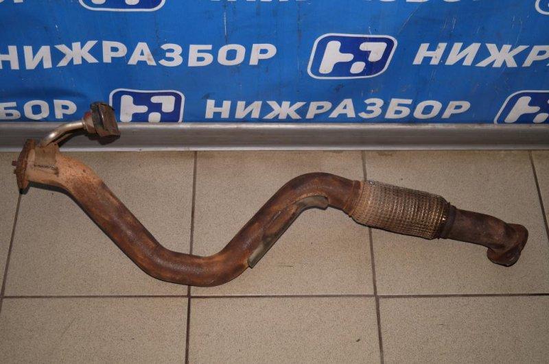 Приемная труба глушителя Skoda Yeti КРОССОВЕР 1.2T (CBZB) 2011 (б/у)
