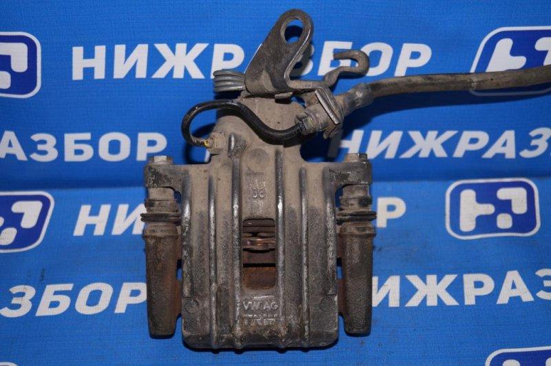 Суппорт Skoda Yeti КРОССОВЕР 1.2T (CBZB) 2011 задний левый (б/у)