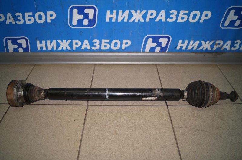 Привод Skoda Yeti КРОССОВЕР 1.2T (CBZB) 2011 передний правый (б/у)