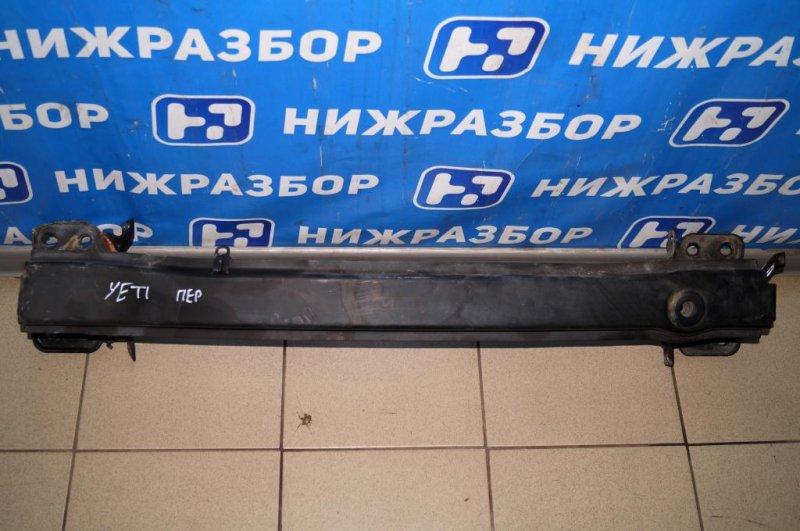 Усилитель бампера Skoda Yeti КРОССОВЕР 1.2T (CBZB) 2011 передний (б/у)