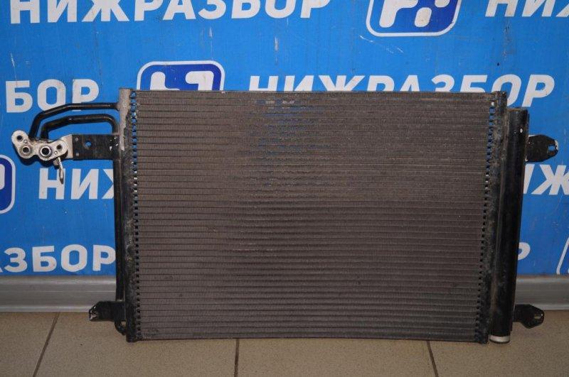 Радиатор кондиционера (конденсер) Skoda Yeti КРОССОВЕР 1.2T (CBZB) 2011 (б/у)