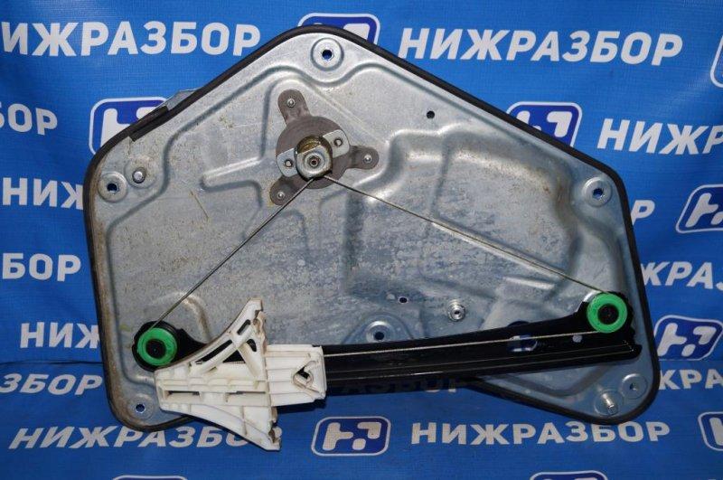 Стеклоподъемник мех. Skoda Yeti КРОССОВЕР 1.2T (CBZB) 2011 задний левый (б/у)