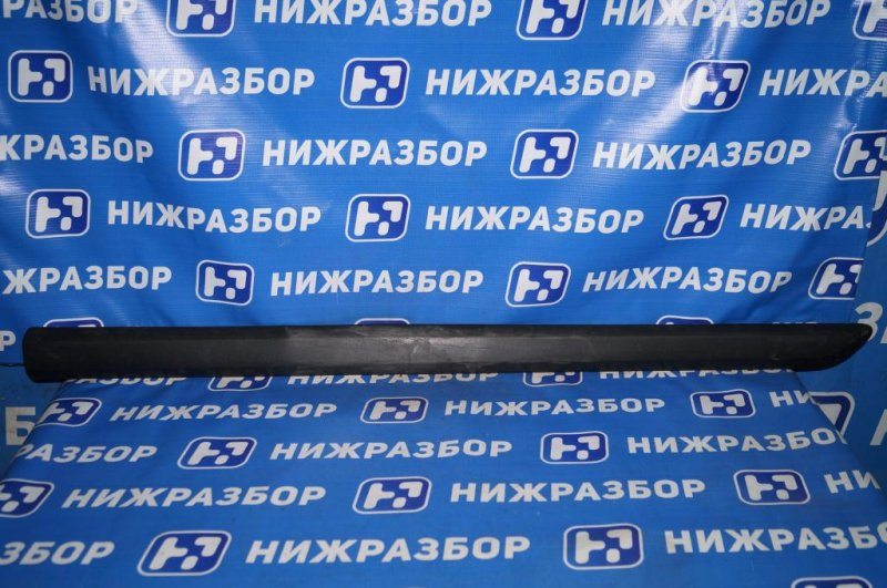 Молдинг двери Skoda Yeti КРОССОВЕР 1.2T (CBZB) 2011 передний левый (б/у)