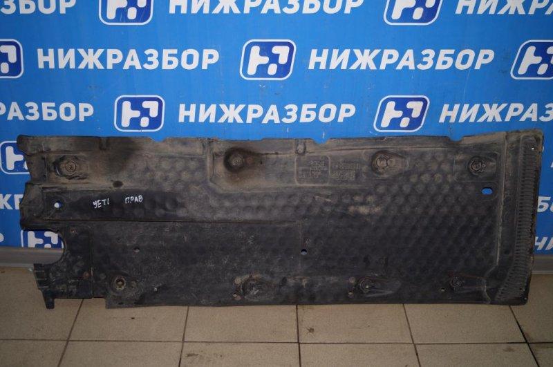 Защита антигравийная Skoda Yeti КРОССОВЕР 1.2T (CBZB) 2011 (б/у)
