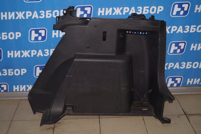 Обшивка багажника Skoda Yeti КРОССОВЕР 1.2T (CBZB) 2011 (б/у)