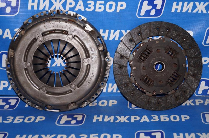 Сцепление комплект Skoda Yeti КРОССОВЕР 1.2T (CBZB) 2011 (б/у)