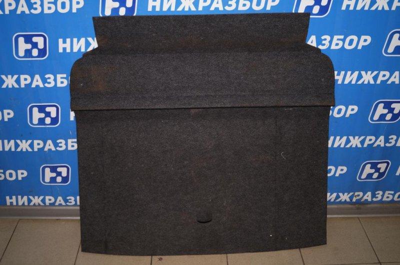 Коврик багажника Skoda Yeti КРОССОВЕР 1.2T (CBZB) 2011 (б/у)