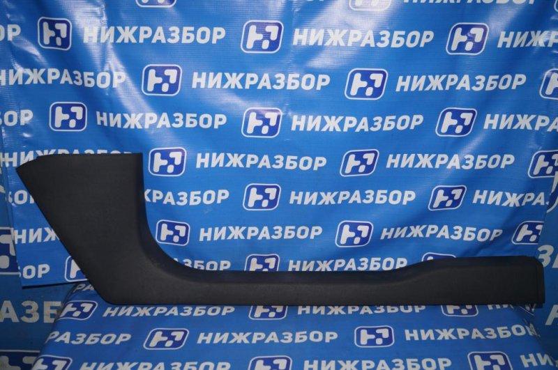 Накладка порога (внутренняя) Skoda Yeti КРОССОВЕР 1.2T (CBZB) 2011 (б/у)