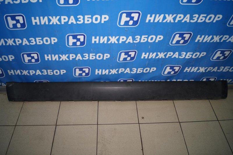 Накладка на порог (наружная) Skoda Yeti КРОССОВЕР 1.2T (CBZB) 2011 (б/у)