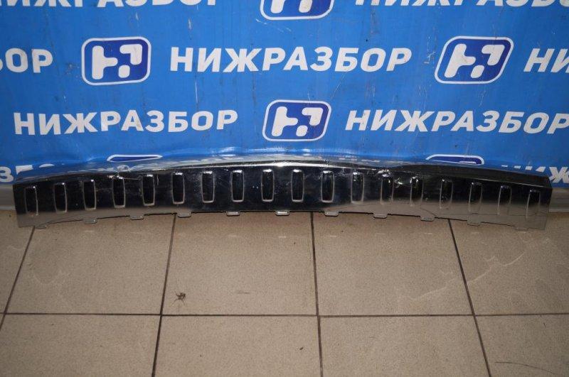 Накладка бампера Mercedes Gl-Class X166 2012 задняя (б/у)