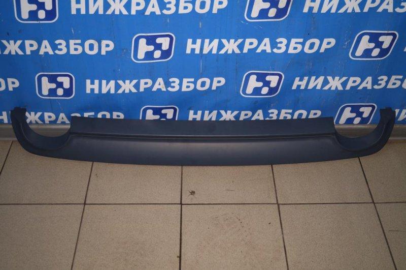 Юбка бампера Mercedes S-Class W221 2005 задняя (б/у)