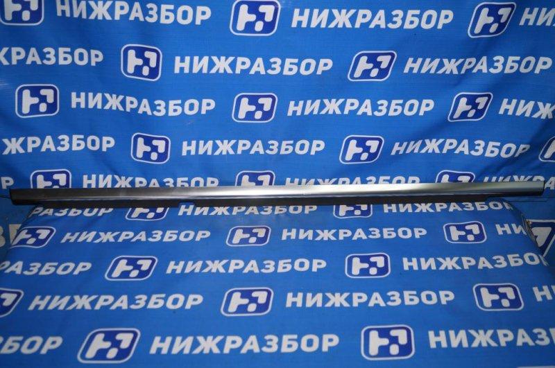 Накладка стекла Mercedes Glk-Class X156 2008 задняя левая (б/у)