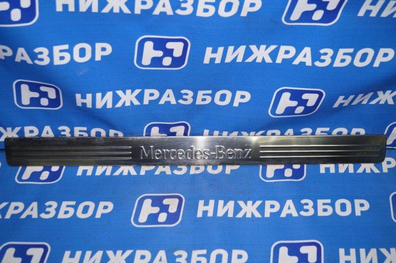 Накладка порога (внутренняя) Mercedes Glk-Class X156 2008 (б/у)