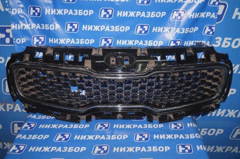 Решетка радиатора Kia Sportage 4 QL 2016> (б/у)