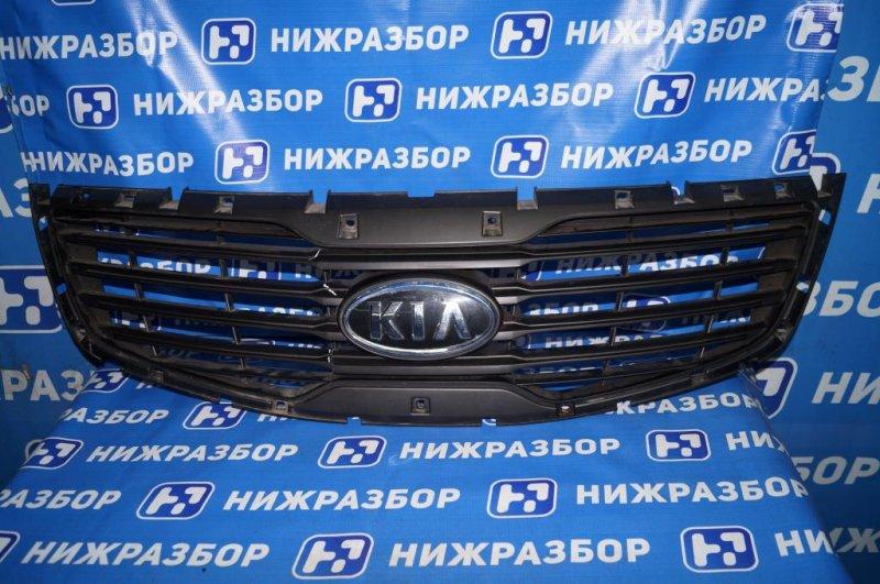 Решетка радиатора Kia Sportage 3 SL 2010 (б/у)