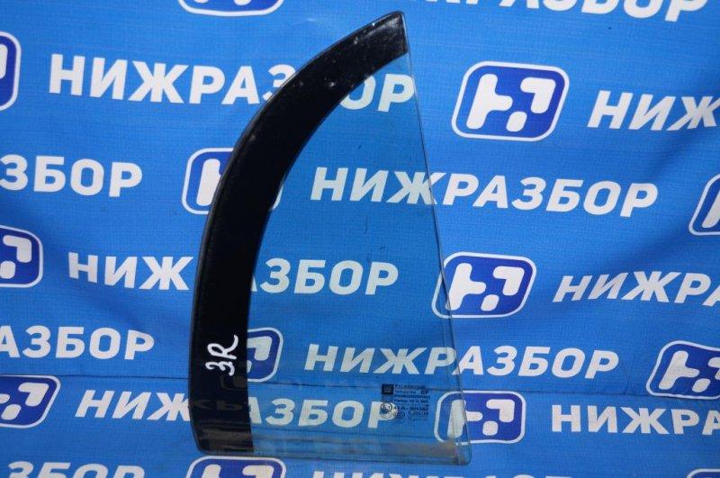 Форточка двери Opel Vectra C 1.8 Z18XER 2008 задняя правая (б/у)