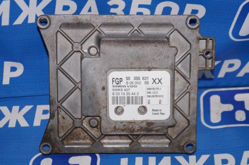 Блок управления двигателем Opel Vectra C 1.8 Z18XER 2008 (б/у)