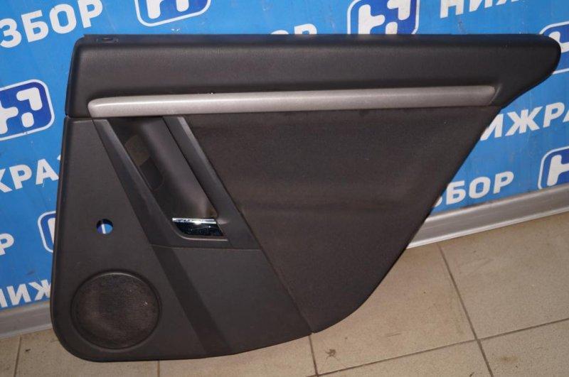 Обшивка двери Opel Vectra C 1.8 Z18XER 2008 задняя правая (б/у)