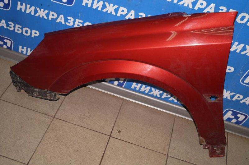 Крыло Opel Vectra C 1.8 Z18XER 2008 переднее левое (б/у)