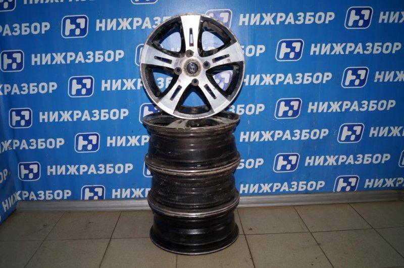 Диск литой к-кт Hyundai Matrix 1.8L (G4GB) 2005 (б/у)