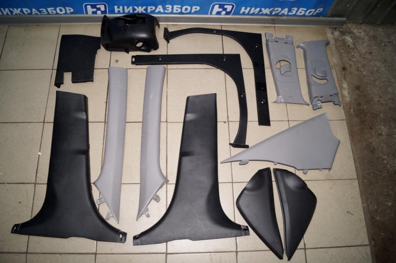 Пластик салонный Kia Rio 3 QB 1.4 (G4FA) (б/у)