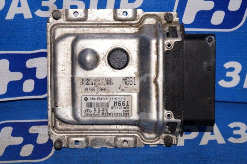 Блок управления двигателем Kia Rio 3 QB 1.4 (G4FA) (б/у)