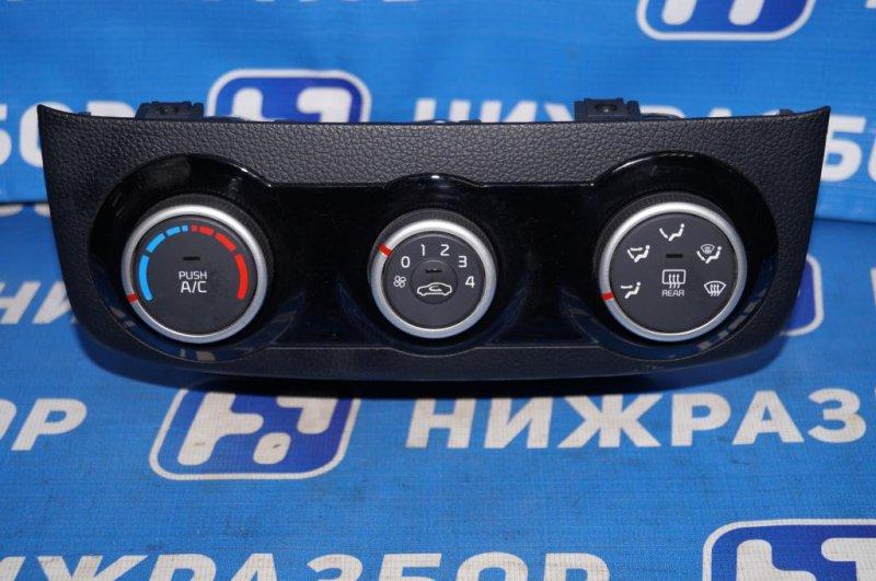 Блок управления отопителем Kia Rio 3 QB 1.4 (G4FA) (б/у)
