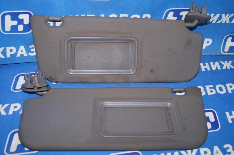 Козырек солнцезащитный Lifan Solano 620 1.6 (LF481Q3) 2012 (б/у)