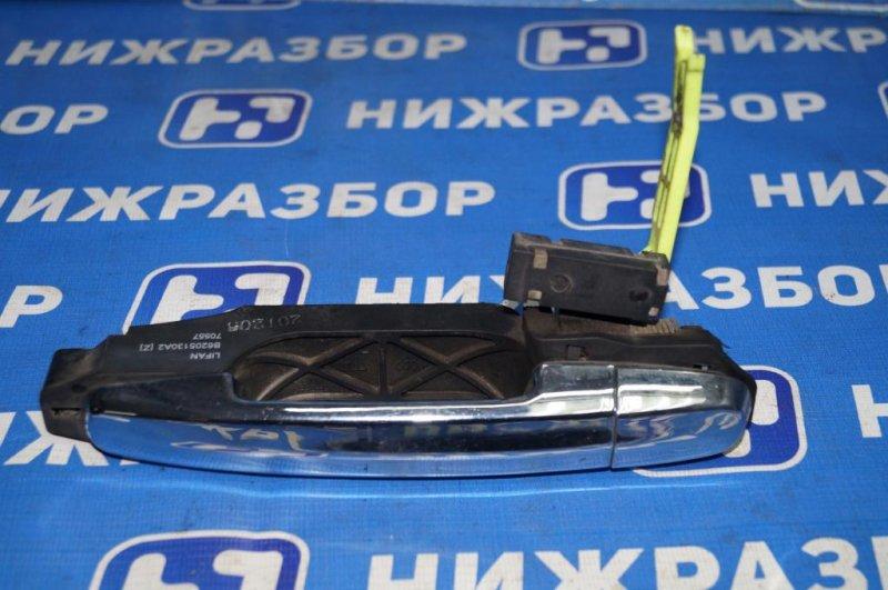 Ручка двери Lifan Solano 620 1.6 (LF481Q3) 2012 задняя левая (б/у)