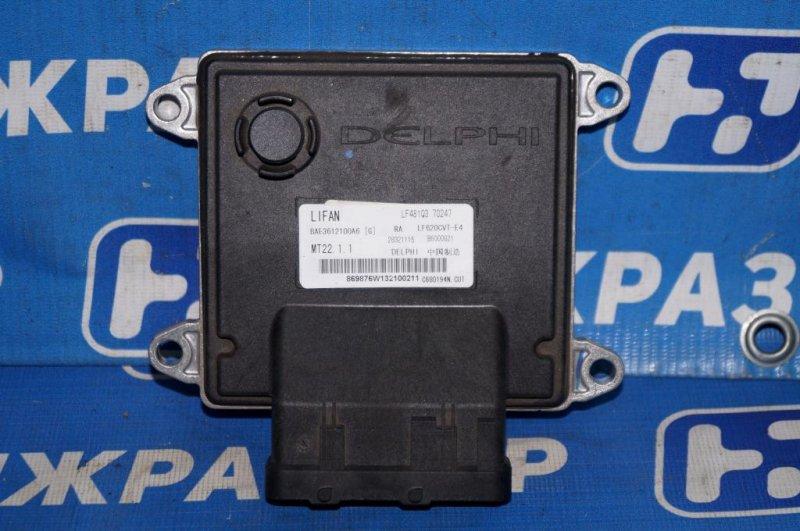 Блок управления двигателем Lifan Solano 620 1.6 (LF481Q3) 2012 (б/у)