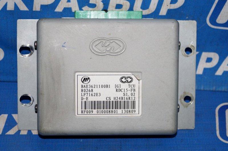 Блок управления вариатором Lifan Solano 620 1.6 (LF481Q3) 2010 (б/у)