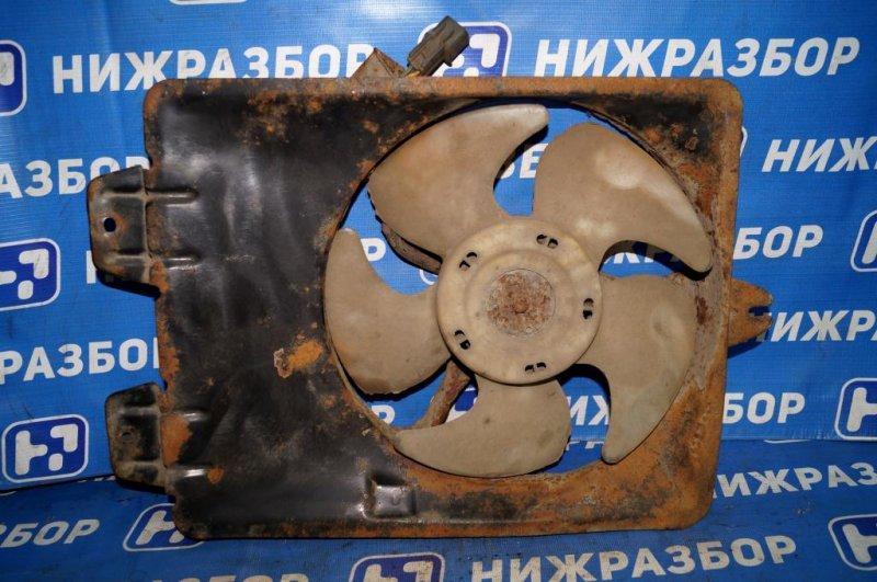 Вентилятор радиатора кондиционера Mitsubishi Carisma DA 1.8 GDI (4G93) 1998 (б/у)