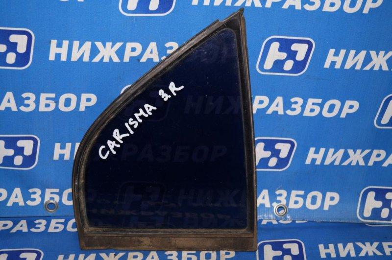 Форточка двери Mitsubishi Carisma DA 1.8 GDI (4G93) 1998 задняя правая (б/у)